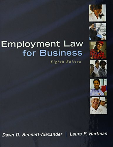 9781259620188: Employment Law for Business with Connect