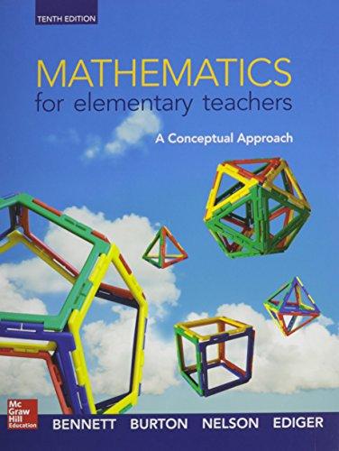 Math for Elementary Teachers: A Conceptual Approach with Connect Access Card: Albert Bennett, ...