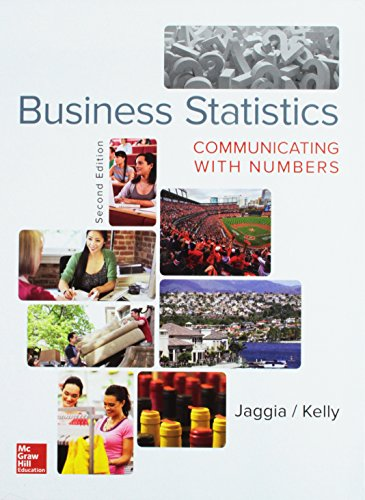 9781259621680: Business Statistics: Communicating with Numbers with Connect Access Card