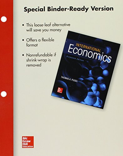 9781259621697: Loose Leaf International Economics with Connect Access Card