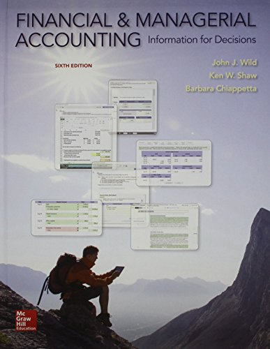 Financial and Managerial Accounting with Connect (Hardcover): John Wild