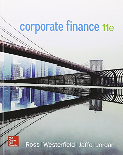 9781259621789: Corporate Finance with Connect 1 Semester Access Card