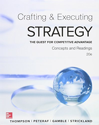 9781259622267: Crafting & Executing Strategy C&R with BSG/GLO-BUS AC