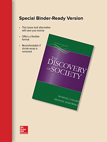 9781259622793: Looseleaf for The Discovery of Society