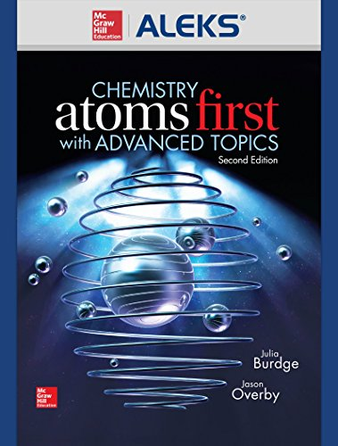 9781259624063: ALEKS 360 Access Card 1 Semester for Chemistry: Atoms First With Advanced Topics