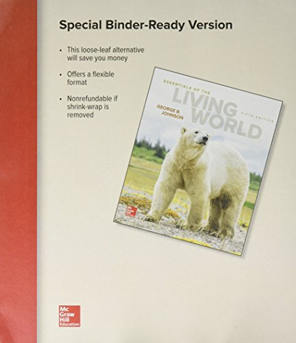 9781259626609: Loose Leaf for Essentials of the Living World