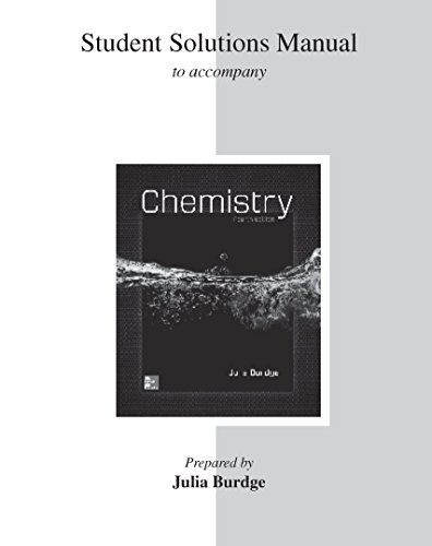 9781259626661: Student Solutions Manual for Chemistry