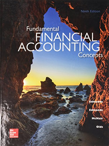 Fundamental Financial Accounting Concepts with Connect: Edmonds, Thomas