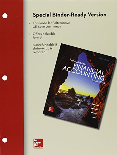 9781259627194: Loose-Leaf Fundamental Financial Accounting Concepts with Connect