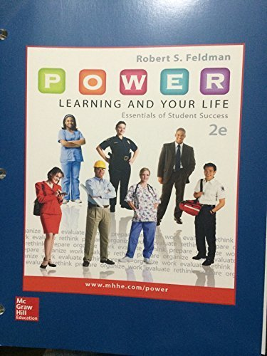 9781259627903: Power: Learning and Your Life (Essentials of Student Success Volume 2)