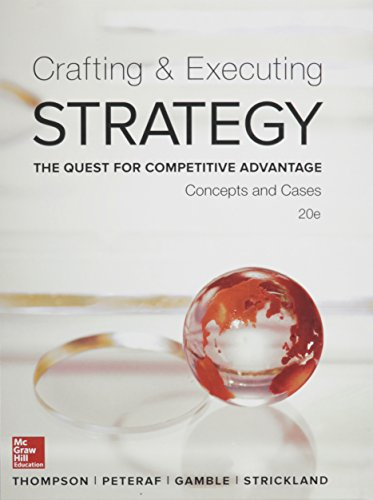 9781259629730: Crafting & Executing Strategy with BSG/GLO-BUS AC