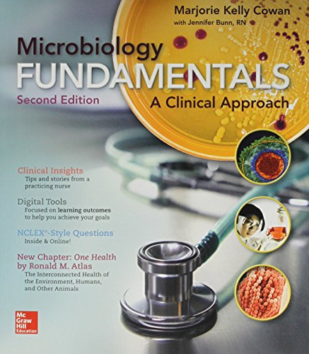 9781259629990: Combo Microbiology Fundamentals with Connect Access Card
