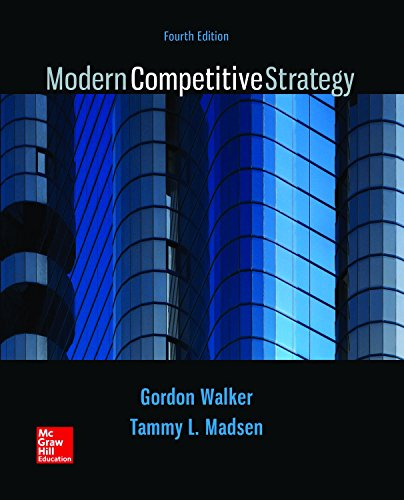 9781259631009: Modern Competitive Strategy with Connect Access Card and The Business Strategy Game GLO-BUS Access Card
