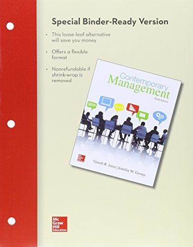 9781259631016: Loose Leaf Contemporary Management with Connect Access Card