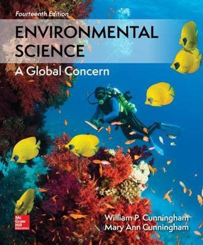 Loose Leaf for Environmental Science: Cunningham Prof., William