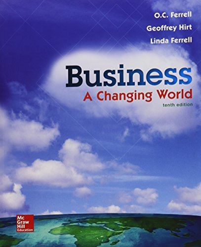 9781259631863: Business: A Changing World with Connect and Business Plan Pro Access Card