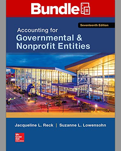 9781259633157: Loose-Leaf for Accounting for Governmental & Nonprofit Entities with Connect
