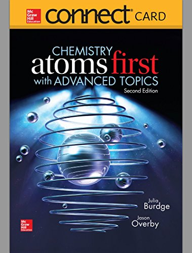 9781259633805: Connect 2 Semester Access Card for Chemistry: Atoms First With Advanced Topics