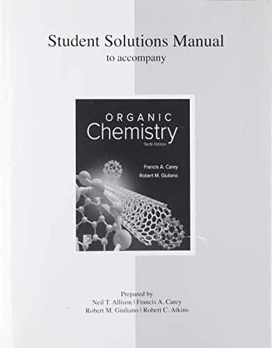 Solutions Manual For Organic Chemistry By Carey Dr