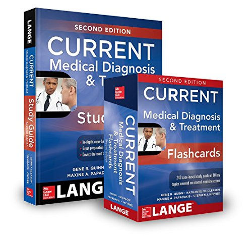 9781259640889: Current Medical Diagnosis and Treatment + Flashcards 2016