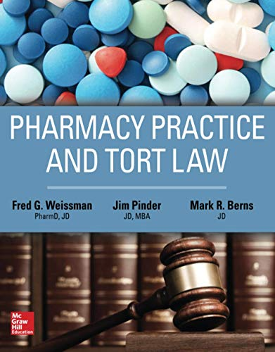 9781259640957: Pharmacy Practice and Tort Law