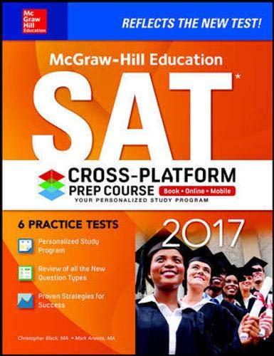 9781259641688: McGraw-Hill Education SAT 2017 Cross-Platform Prep Course