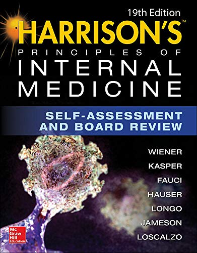9781259642883: Harrison's Principles of Internal Medicine Self-Assessment and Board Review, 19th Edition