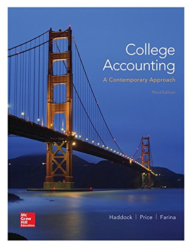9781259656033: College Accounting (A Contemporary Approach) CNCT ACCS