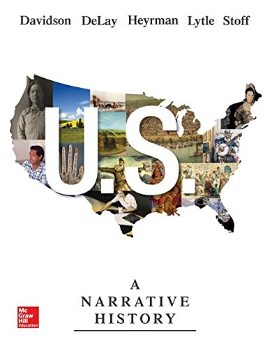 US: A Narrative History with Connect 2-Term: James West Davidson;