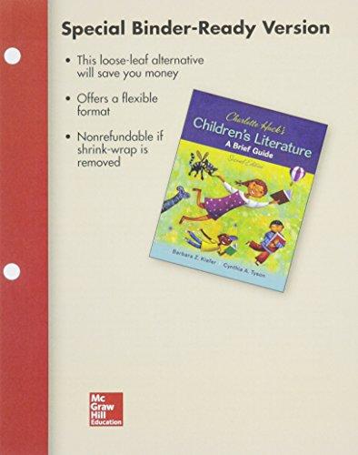 9781259656613: Looseleaf for Charlotte Huck's Children's Literature: A Brief Guide