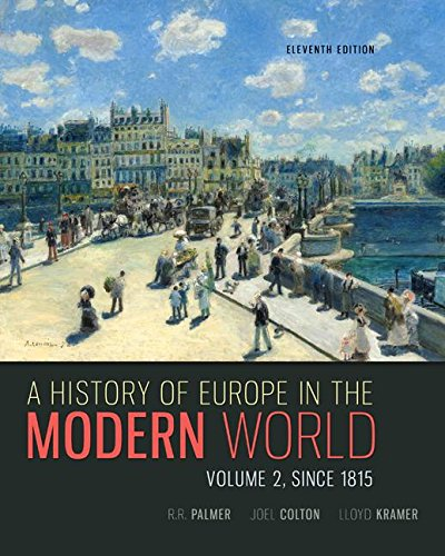 9781259656774: Combo: A History of Europe in the Modern World Vols.1 & 2