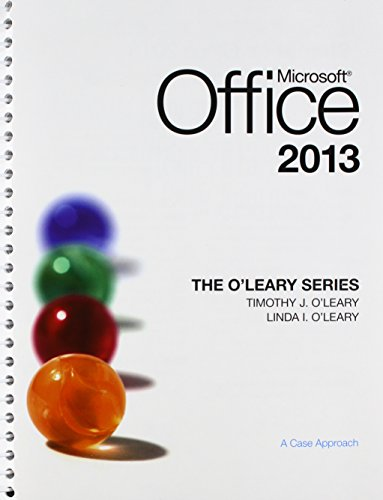 9781259656811: The O'Leary Series: Microsoft Office 2013 with SIMnet Access Card