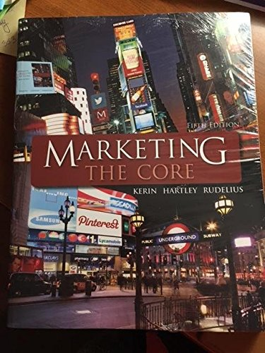 9781259657788: Marketing Core - with ConnectPLUS Access Card - IVY TECH CC