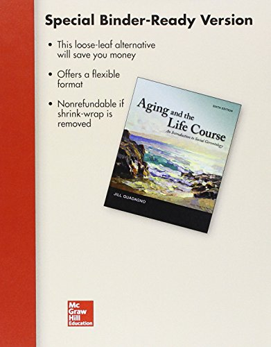 9781259659584: Loose Leaf for Aging and The Life Course with Connect Access Card