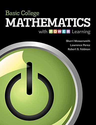 9781259659676: Basic College Mathematics with P.O.W.E.R. Learning with Connect Plus Math Hosted by ALEKS Access Card