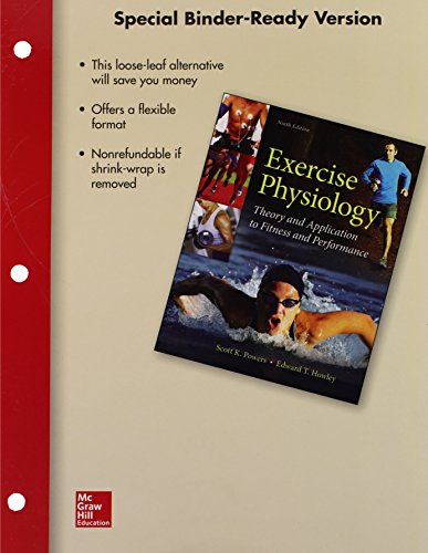 9781259660405: Exercise Physiology Loose Leaf Edition with Connect Access Card