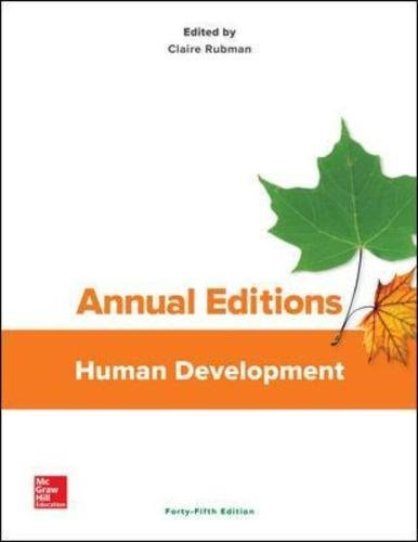9781259661204: Annual Editions: Human Development, 45/e