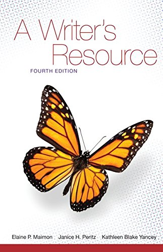 9781259661419: A Writer's Resource (comb-version) Student Edition with Connect Access Card for McGraw-Hill Composition Handbook