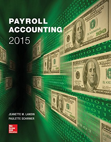 9781259662836: Payroll Accounting 2015 with Connect