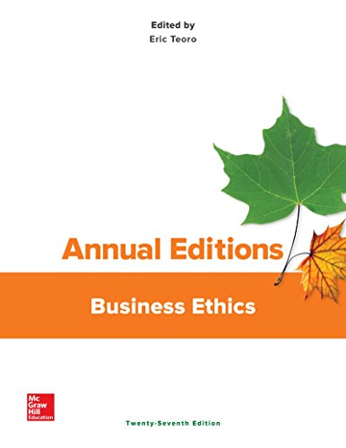 9781259664069: Annual Editions: Business Ethics, 27/e