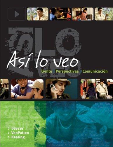 9781259664700: Asi lo veo: Gente, Perspectivas, Comunicacion with Quia WBLM Access Card