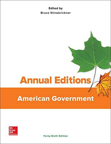 9781259665288: Annual Editions: American Government, 46/e