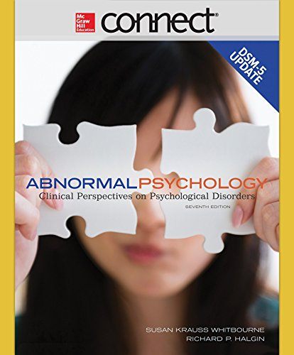 9781259665905: Abnormal Psychology with DSM-5 Update with Connect Access Card
