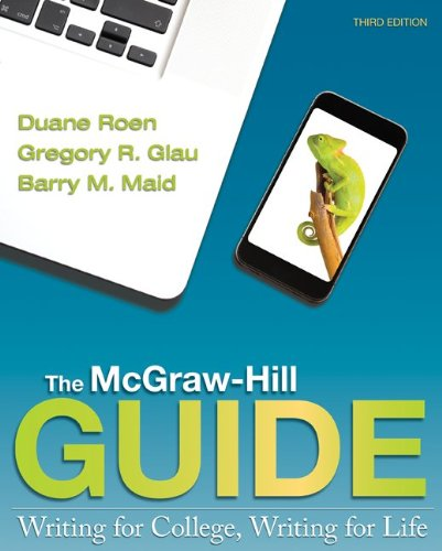 9781259665929: The McGraw-Hill Guide: Writing for College, Writing for Life with the Handbook for the McGraw-Hill Guide and Connect Access Card
