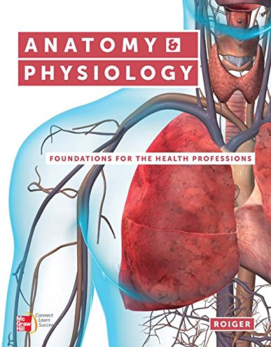9781259665936: Anatomy and Physiology: Foundations for the Health Professions with the Workbook and Connect Access Card