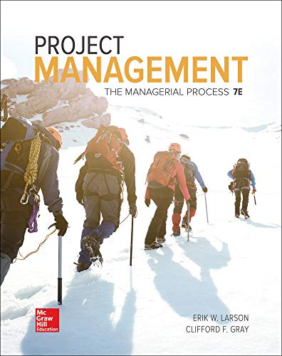 9781259666094: Project Management: The Managerial Process (Mcgraw-hill Series Operations and Decision Sciences)
