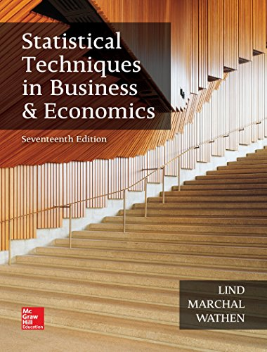 9781259666360: Statistical Techniques in Business and Economics (The Mcgraw-hill/Irwin Series in Operations and Decision Sciences)
