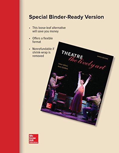 Loose Leaf for Theatre: The Lively Art: WILSON