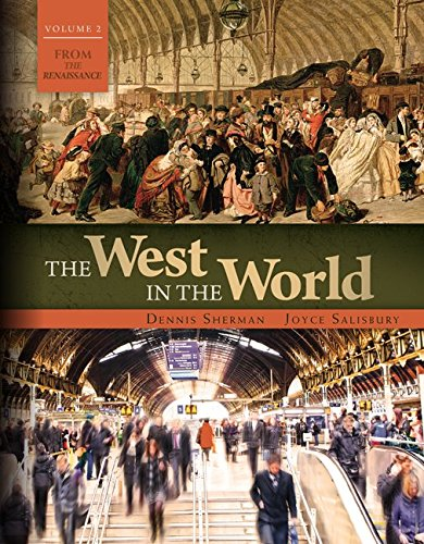 9781259670589: The West in the World Volume 2 with Connect 1-Term Access Card