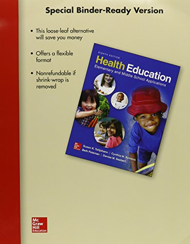 9781259672156: Loose Leaf Health Education and Connect Access Card